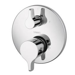 Hansgrohe 04353000 S and E Thermostatic Trim with Volume Con