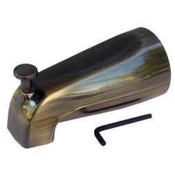 LASCO 08-1015 Bathtub Spout with Front Lift Diverter, Antiqu