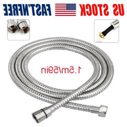 "1.5M/59"" Shower Hose Flexible Long Replacement  Handheld Pip"