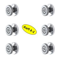 1-6pack bathroom Brass round Massage spa Shower tap System B