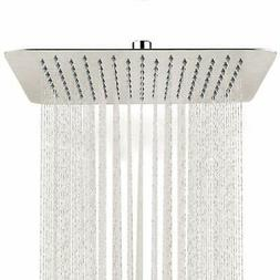 SR SUN RISE 10 inch Shower Head in 304 Stainless Steel Brush