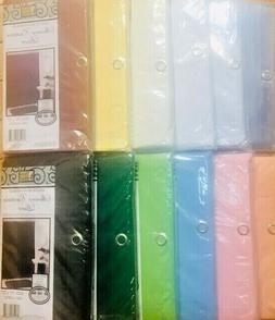 """100% Vinyl Shower Curtain Liner """"Mildew Resistant, Heavy Wei"""