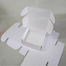200x White Paper Favour Boxes Party Baby Shower Gift Product