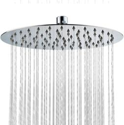 SR SUN RISE 11.8 Inches Rain Shower Head 304 Stainless Steel