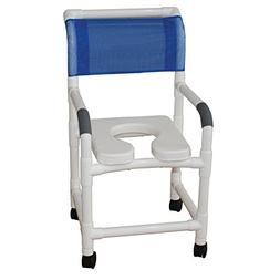 MJM International 118-3TW-FD Standard Shower Chair with Fold