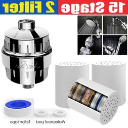 15 Stage Shower Head Filter Purifier with Filter for Hard Wa
