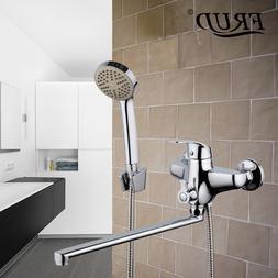 Frud 1set wall mounted water tap bathroom fixture waterfall