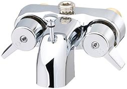 Barclay 205-S-CP Tub Converto Shower Spout with Handles
