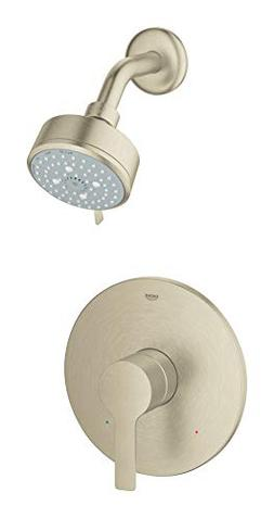 Grohe 23826EN1 Lineare Shower Combination Trim Kit, Brushed