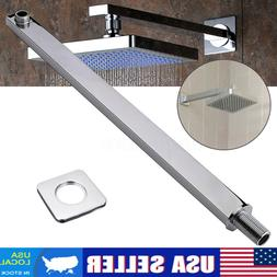 24'' 60cm Chrome Wall Mounted Shower Extension Arm F/ Rain S