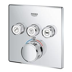 Grohe 29142000 Grohtherm Smart Thermostatic Trim With Contro