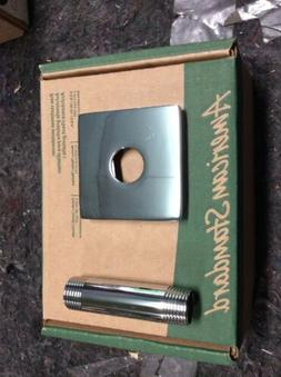 "American Standard 3"" Ceiling Shower Arm With Square Escutche"