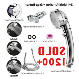 3 In 1 High Pressure Showerhead Handheld Shower Head