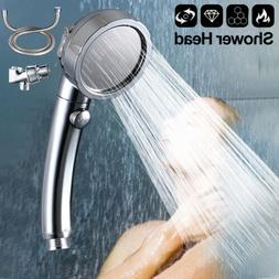 3 In 1 Stainless Shower head+Hose+Holder A COMPLETE SHOWER K
