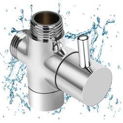 3-Way Shower Head Diverter Valve Sprayer Arm Mount G1/2 T-Ad