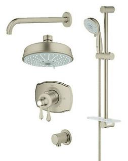Grohe 35 054 GrohFlex Thermostatic Shower System - Includes