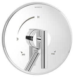 Symmons S-3500-Cyl-B-Trm Dia Shower Trim, Chrome