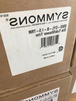 Symmons 3502-CYL-TRM Dia Tub/Shower Faucet & Spout 1 Handle