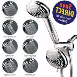 HotelSpa Ultra-Luxury 3-Way 36-Setting Shower Head Handheld