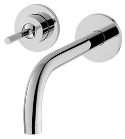 Axor 38118001 Uno Wall Mounted Single Handle Faucet in Chrom