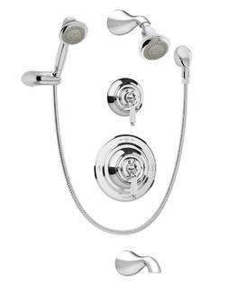 Symmons 4406 Carrington Tub/Shower System, Chrome