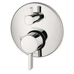 Hansgrohe 4447000 S Pressure Balanced Valve Trim with Integr