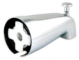 5/8 SLIP ON CHROME BATH TUB SPOUT W SHOWER  DIVERTER  FOR 1/