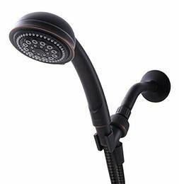 5 Function Handheld Adjustable Shower Head Set 60-In Hose Oi