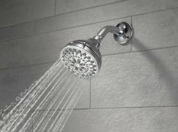 Delta Faucet 5 Function Shower Head High Pressure Swivel Tou