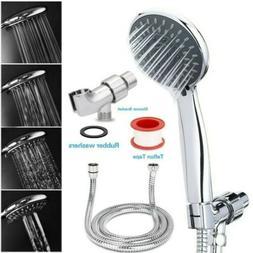 5 In 1 High Pressure Showerhead Handheld Shower Head With Ho