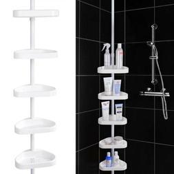 5 Layer Bathroom Corner Shelf Shower Caddy Storage Rack Towe