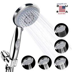 5 Setting Showerhead Handheld Shower Head Boosting with Paus