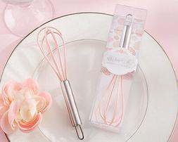 50 Perfect Mix Pink Kitchen Whisk Bridal Shower Wedding Favo