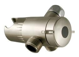 LDR 520 2469BN Three-Way Shower Diverter and Mount, Brushed