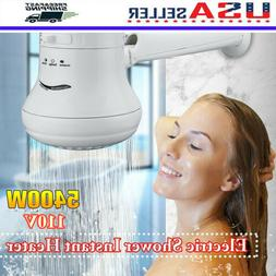 5400W 110V Electric Shower Head Heat Instant Hot Water Heate