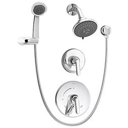 Symmons S-5505 Elm Two Handle Shower System with Handshower