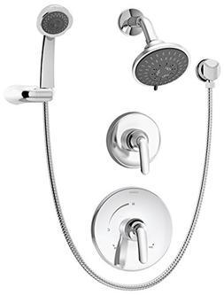 Symmons 5505 Elm Chrome Shower System with Hand Spray
