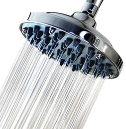 6 Inch High Pressure Rainfall Massage Shower Head - Disassem