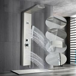 6 Function Shower Panel Tower Rain&Waterfall Massage Body Sy