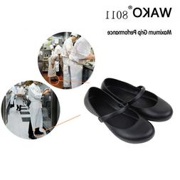 8011 Women Chef Shoes Kitchen Water Proof Oil Non Slip Safet