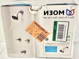 82602 Moen Adler Chrome Tub & Shower Faucet w/VALVE 2-Handle