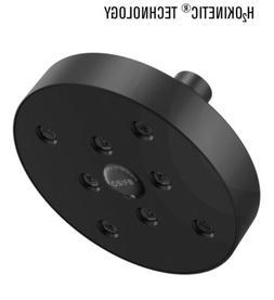 Brizo 87375-BL  H20KINETIC Round Shower Head  Matte black