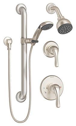 Symmons 9605-PLR-TRM-STN Origins 1-Spray Handshower & Shower