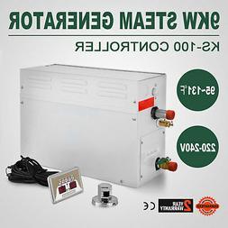 9KW Steam Generator Sauna Bath Steamer for Home SPA Shower w