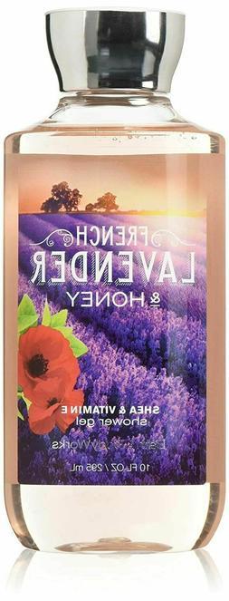 Bath & Body Works French Lavender & Honey Shower Gel 10 oz/2