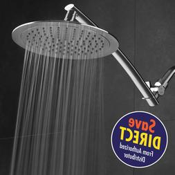 Razor Mega Size 9-inch Chrome Face Rainfall Shower with 15-i