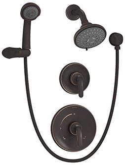 Symmons 5505-SBZ Elm Seasoned Bronze Shower System with Hand