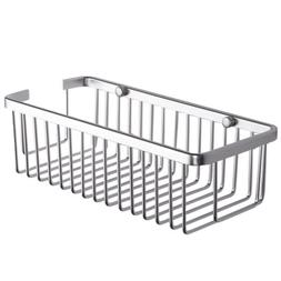 KES A4023 Rectangular Tub and Shower Basket Wall Mount, Alum