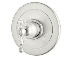 Rohl AC600L-PN Cisal Shower Valve Trim with Ornate Metal Lev