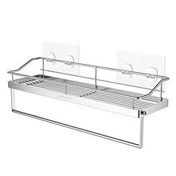 Orimade Adhesive Bathroom Shelf With Tower Bar Rail Rack Sho